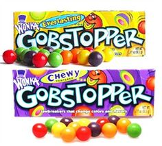 Gobstoppers :-)  Always his favorite!