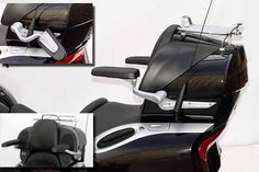 Armrests - Passenger - BMW K1200LT Motorcycle - by ZTechnik - - A&S BMW Motorcycle Parts and Accessories