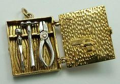Tool Box Charm | Sandys Vintage Charms