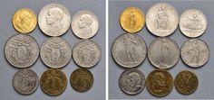 NumisBids: Nomisma Spa Auction 50, Lot 310 : Pio XII (1939-1958) Divisionale 1941 A. III – 100, 10, 5, 2 e una...