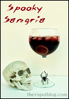 The V Spot: Make a spooky sangria with Turning Leaf Refresh wines.