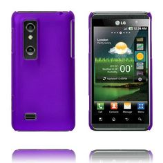 Hard Shell (Lilla) LG Optimus 3D Deksel