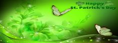 ♧ Happy St Patrick's Day Facebook Cover ♧