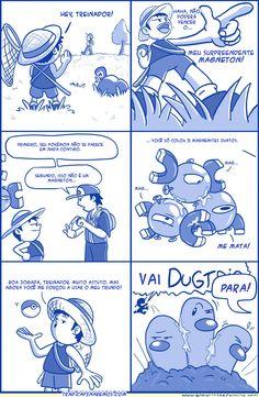 E no universo de Pokémon.