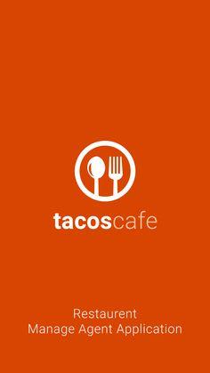 Tacos Cafe : Splash Screen Design Mockup