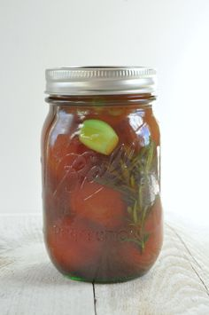 Pickled cherry tomatoes - emerald + ella blog