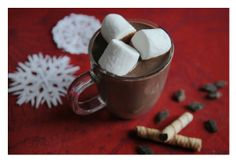 Spiced Mexican-style hot chocolate.