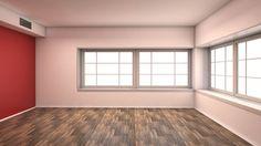 red empty interior
