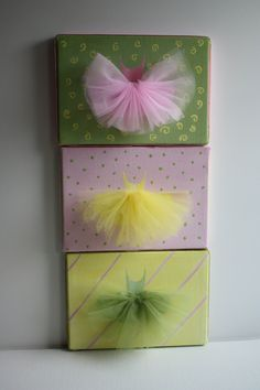 ballerina paintings with tulle tutus