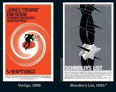 Posters designed by Saul Bass