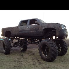 Mudding with lifted truck by Autotech4x4...Mmmm Yummy