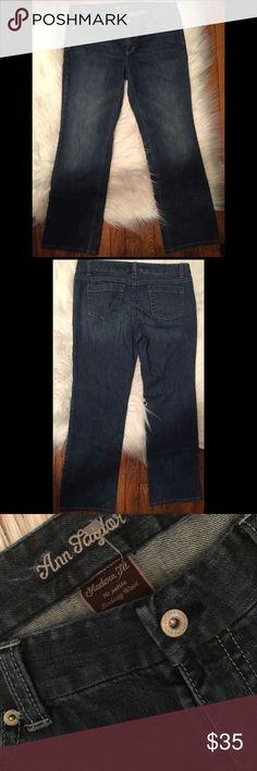 Ann Taylor Petite Modern Fit Sz 10 Ann Taylor Petite Modern Fit Sz 10 Ann Taylor Jeans