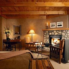 Buffalo Mountain Lodge, Banff, Canada. My favorite place! This is where we stayed after we were married.