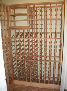 Great Individual Storage Redwood Closet Wine Cellar Awesome Design