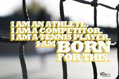 I am Born For This. #iplaytennis