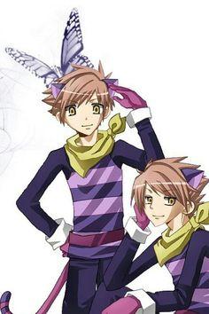Hikaru and Karou