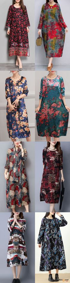 Women's Dresses Collection, Floral Dresses, Long Dresses. Fall in love with elegant and Chinese style! click to find your style!