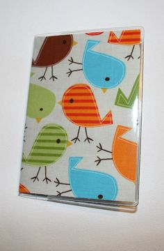 Passport Cover / Holder / Case - Urban Zoologie Birds