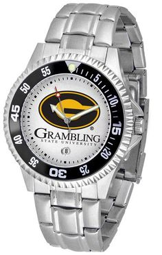 Grambling State Tigers Competitor Steel Watch