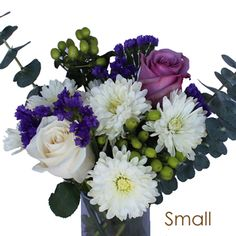 FiftyFlowers.com - Purple and White Wedding Centerpieces
