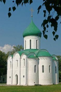 Спасо-Преображенский собор, 1157г. (Переславль-Залесский)