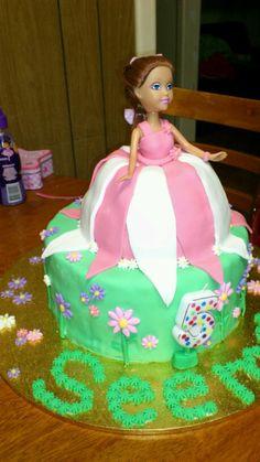 Dolly varden cake