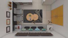 Kumpul dan buka puasa bareng keluarga.  .   In Frame : Desain Interior