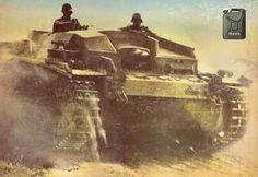 STUG assault german gun - North Africa WW2, pin by Paolo Marzioli