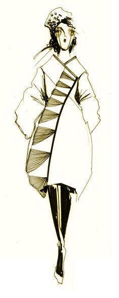 Sketch by Anastasia Kurbatova