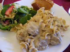 Recipe Shoebox: Meatball Stroganoff in a crockpot