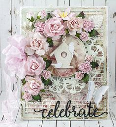 A Mermaids Crafts: Celebrate Cards for Wild Orchid Crafts