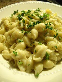 Garlic & Herb Pasta Shells