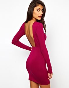 ASOS Mini Bodycon Dress With Square Open Back Get 7% cash back at http://www.studentrate.com/all/get-all-student-deals/ASOS-Student-Discount--/0
