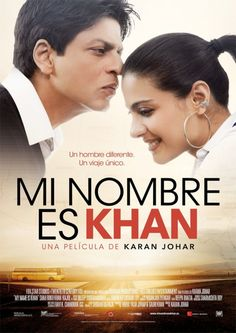 Mi name is khan. This is a film with bollywood actors, Shahruhk khan and Kajol. I cry with this film. I recommented this film to hindi people :) Interesting movie Movie Poster Font, Movie Poster Frames, Movie Posters For Sale, Poster Text, Film Posters, Series Movies, Hd Movies, Film Movie, Movies And Tv Shows