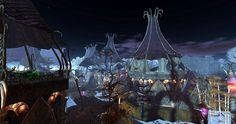 Fantasy Faire 2014 - The Faery Court Giant Tree, Cycle Of Life, Faeries, Sims, Fantasy, Seasons, Explore, Dark, Painting
