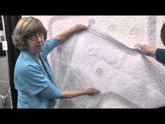 Susan Stewart – Adding Lace to Your Quilt - YouTube