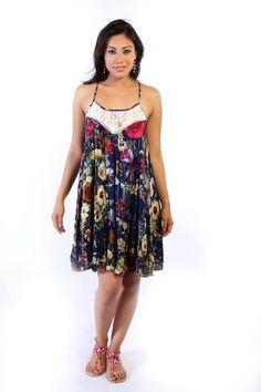 Vestido Deep flowers
