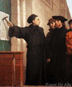 Ferdinand Pauwels - Martin Luthers Thesenanschlag