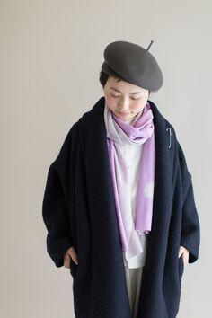 SOU・SOU×MOONBAT ストール/石けり 桃色 - SOU・SOU netshop (ソウソウ) - 『新しい日本文化の創造』