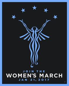 Women's March on Washington (poster by Peter Nowell)