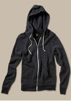 I usually don't really like zip up hoodies, but I really like this one for some reason:)