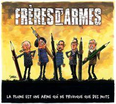 """""""Charlie Hebdo est le fer de lance de cet esprit satirique qui bouscule les conventions"""", interview du dessinateur belge SONDRON"""