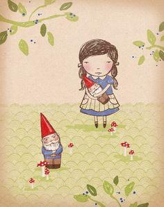 Gnomes (blue edition)