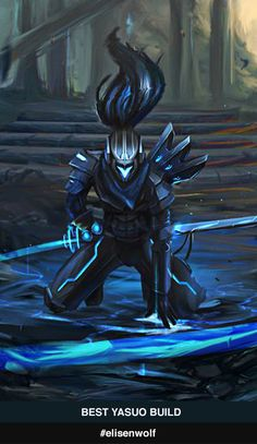 Yasuo, Way Of The Wanderer Season Yasuo build guides on MOBAFire. League of Legends Premiere Yasuo Strategy Builds and Tools. Lol League Of Legends, League Of Legends Yasuo, League Of Legends Characters, Character Costumes, Game Character, Character Design, Noir Spiderman, Animated Love Images, Animes Wallpapers