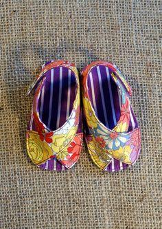 Mimi Baby zapatos patrón PDF recién nacido por littleshoespattern
