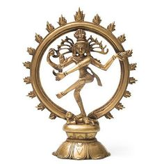 Recycled Brass Nataraj - Dancing Shiva