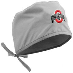 NCAA Ohio State Buckeyes Gray Scrub Cap by Football Fanatics. $19.95. Ohio State Buckeyes Gray Scrub Cap65% Polyester/35% CottonOfficially licensed collegiate productDrawstring closureQuality embroideryTeam logo and colorsMade in Mexico from American fabricQuality embroideryTeam logo and colorsDrawstring closureMade in Mexico from American fabric65% Polyester/35% CottonOfficially licensed collegiate product