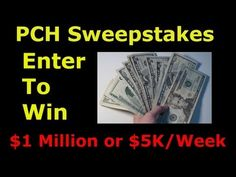 PCH.com - Win $1 Million - $5000 a Week For Life Sweepstakes