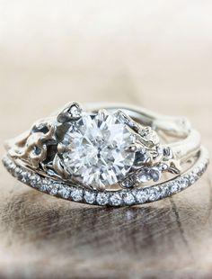 Unique Engagement Rings Ken & Dana Design - Devi