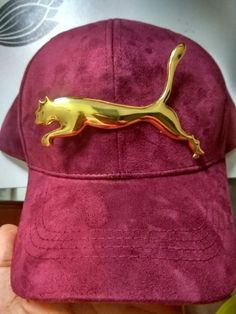 Puma Big Lion Gold Metal Logo   Check   Pin Separetely Selling - 10 Pcs    Lot afd326a32d0